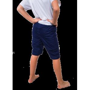 Pyjama bleu modèle shorty