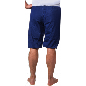 Pyjama bleu modèle long
