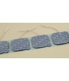 Electrodes 5x5 pour TENS, 1 set de 4