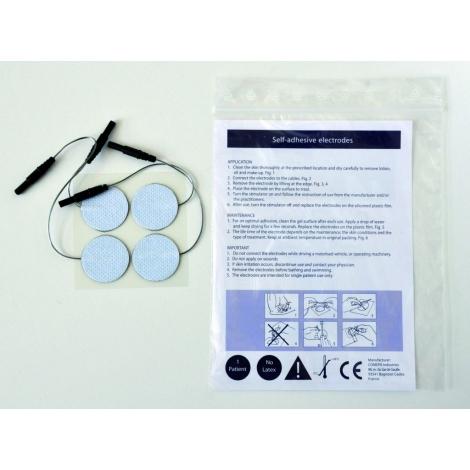Electrodes 5x5 voor TENS 1 set van 4